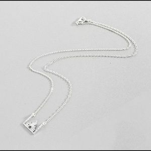 Silver agrabah necklace